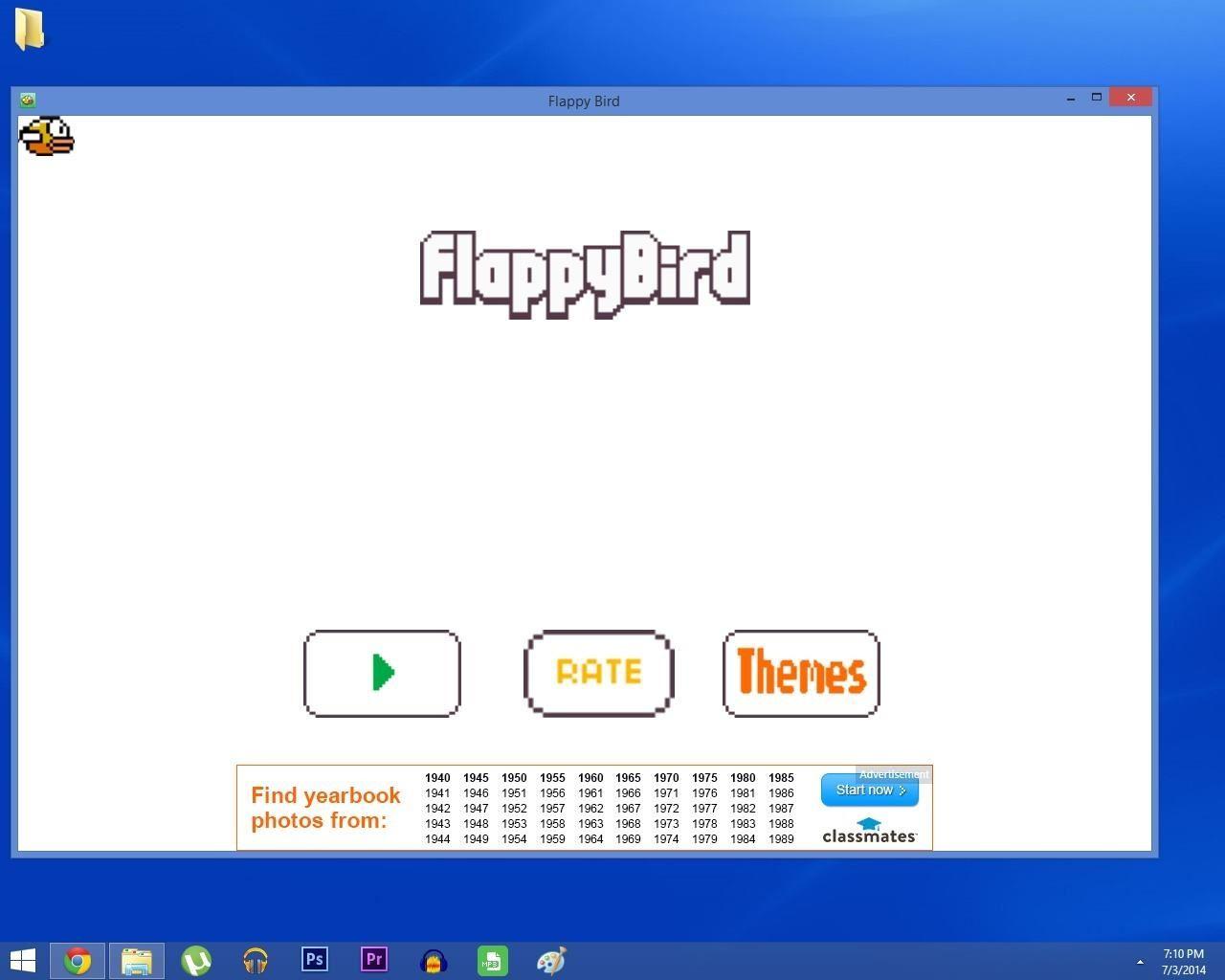how to add windows app to desktop