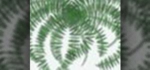 Create fern leaves within Adobe Photoshop CS4 or CS5