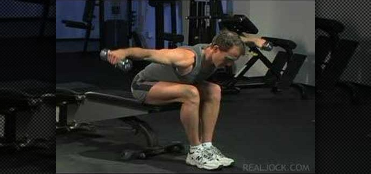 How To Do Seated Reverse Flys 171 Weights Wonderhowto