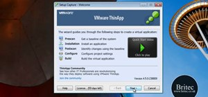 Create portable applications with VMWare