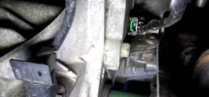 Find the crankshaft position sensor on a Nissan Altima