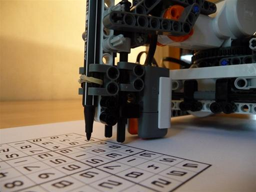 lego mindstorms sudoku solver instructions