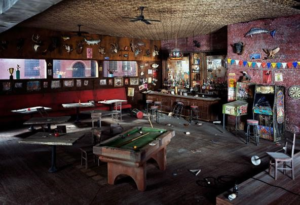 An Abandoned Bar, Two-Feet-Tall