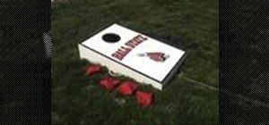 Play corn hole