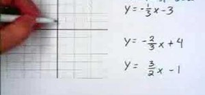 Understand parallel and perpendicular lines