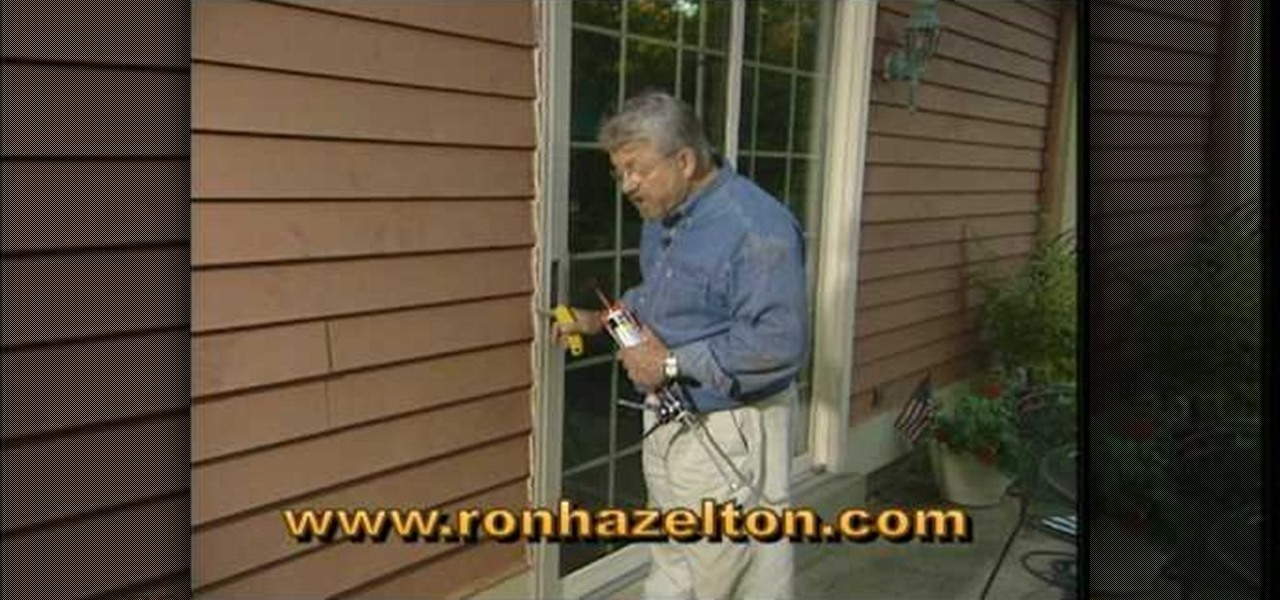 How to Remove and replace exterior caulk « Construction & Repair ...