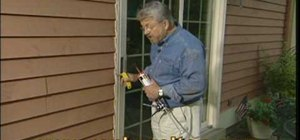 Remove and replace exterior caulk