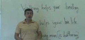 Use gerunds and gerund phrases in English grammar
