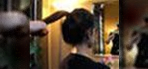 Style your hair in a perfect ponytail
