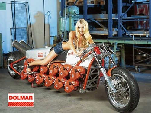 Scantily Clad Chick Presents: Chainsaw Powered Chopper