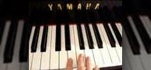 Transpose music on the piano