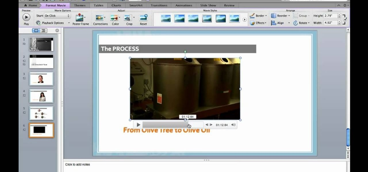 How to Embed a video in a slide in Microsoft PowerPoint Mac 2011 ...