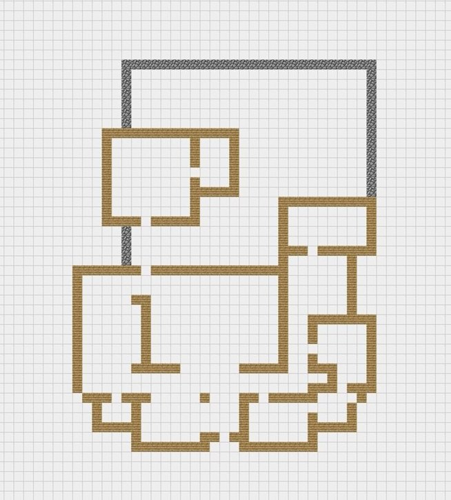 The blueprints below are pretty basic, they include only walls and ...
