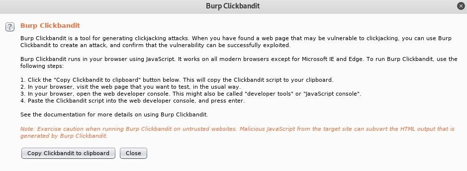 How to Create a Clickjacking Attack with Burp Suite to Steal User Clicks