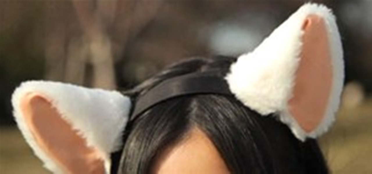 how to make realistic cat ears and tail