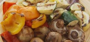 Cook fruits and vegetables on the grill with Lowe's