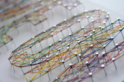 Holy String Art, Batman! 6 of the Coolest Thread Art Projects Ever