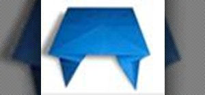 Origami a table Japanese style