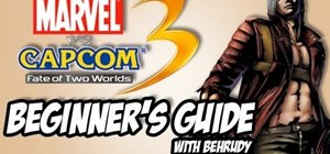 Get to know the basics of Marvel vs. Capcom 3