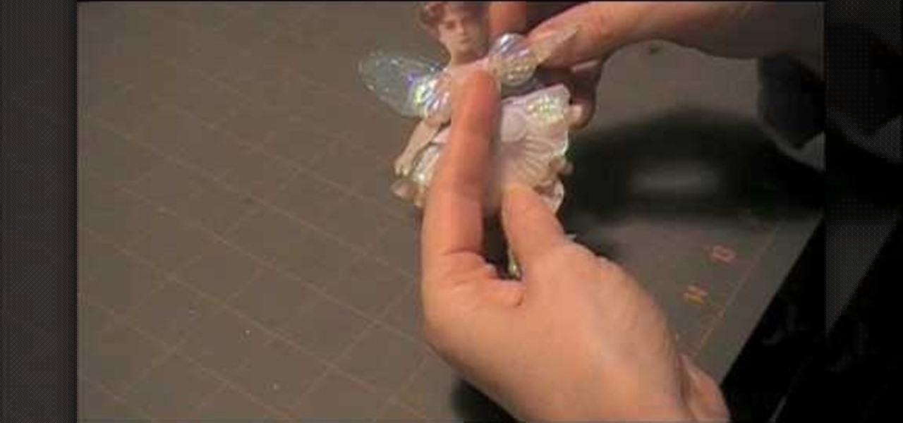 how to make a paper fairy