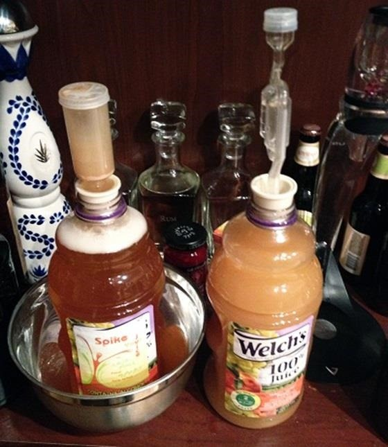 How to Turn Your Favorite Fruit Juice into Cheap Homemade Booze