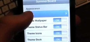 Customize an iPod Touch