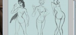 Draw the figure of the female form