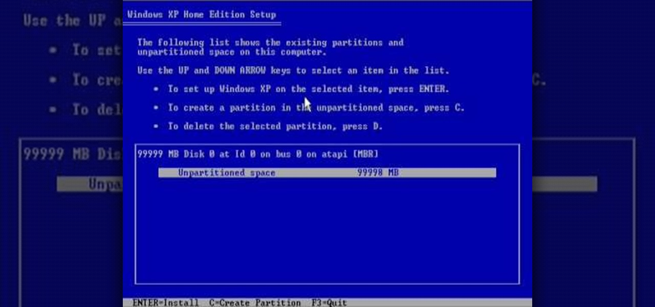 How to Reformat your computer � Operating Systems