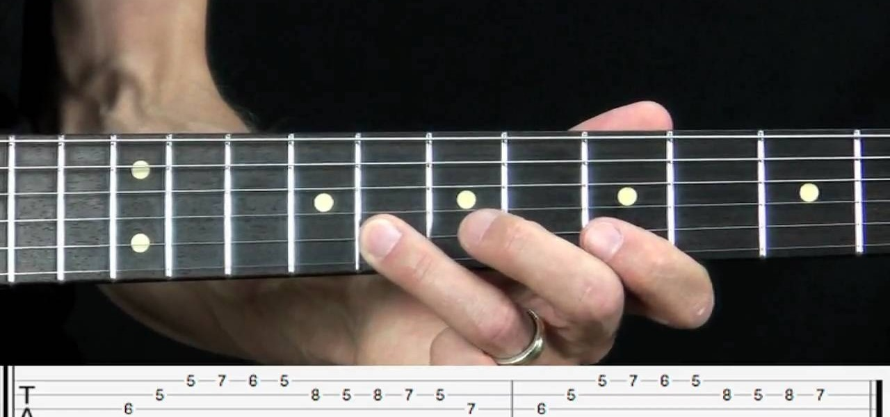 How to Play an Freddie King style Blues lick over the IV chord on ...