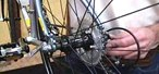 How to Remove & install a rear bicycle wheel