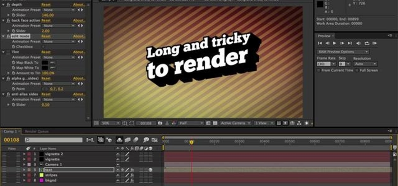 Adobe After Effects Cs4 Animation Presets