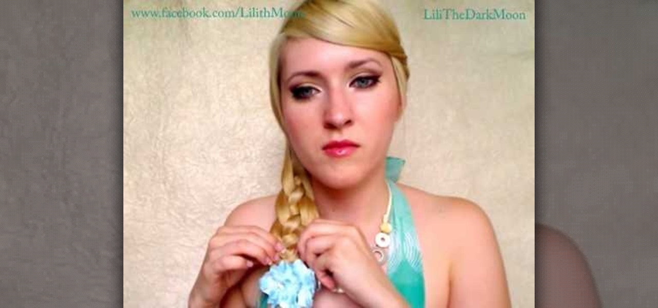 How to Style fishtail, 4-strand flat & 4-strand round braids