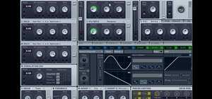 Make dubstep / drum and bass wobble bass with the Massive PC synth