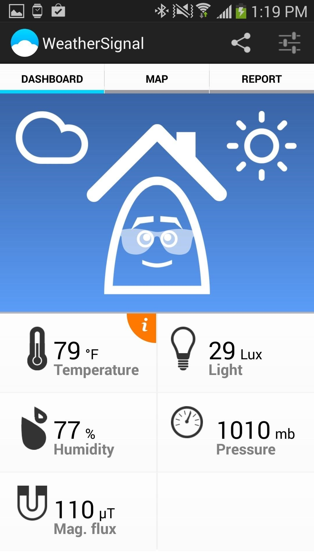 Turn Your Samsung Galaxy Note 3 into a Personal Ambient Weather Station with These Apps & Widgets