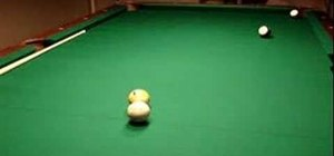 Use pool and billiards shot dynamics