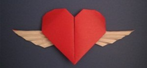 Fold a Winged Origami Heart