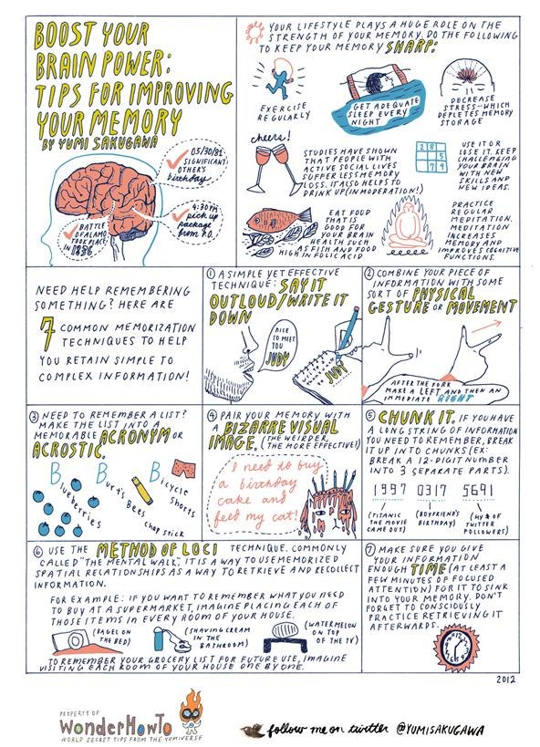 Boost Your Brain Power: 7 Tips for Improving Your Memory