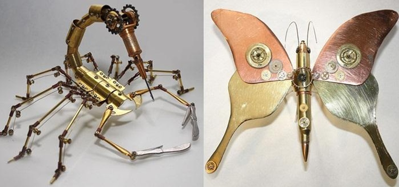 Steampunk Insects on the Loose!