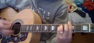 """Play """"And I Love Her"""" by The Beatles on guitar"""