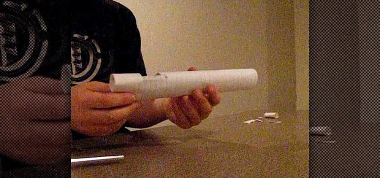 How To Make A Paper Bullet Shooting Paper Gun Papercraft