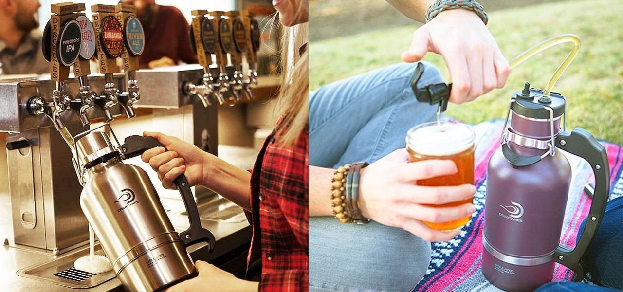 DrinkTanks' Growler & Kegulator = Your Very Own Portable Beer Keg