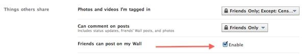 How to Unblock Wall Posts