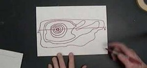 Make a topographic profile
