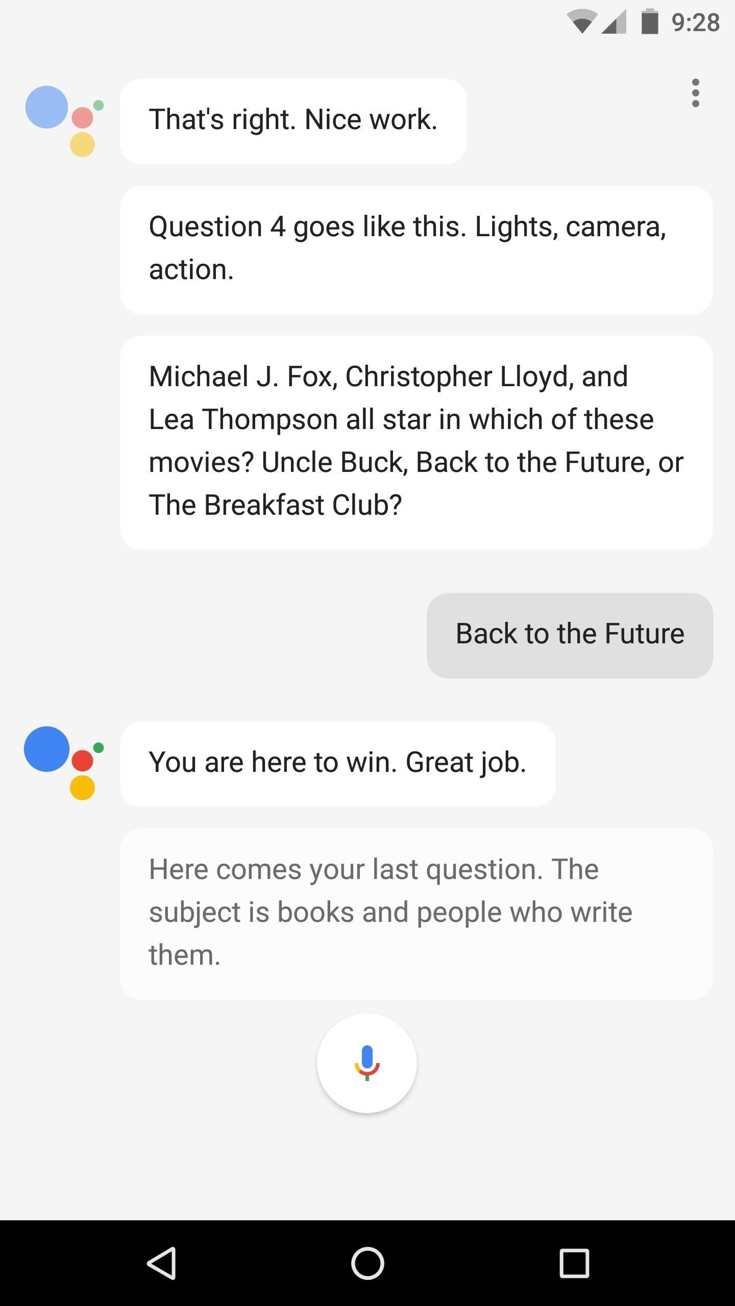 Tell Google Assistant 'I'm Feeling Lucky' for a Fun Easter Egg