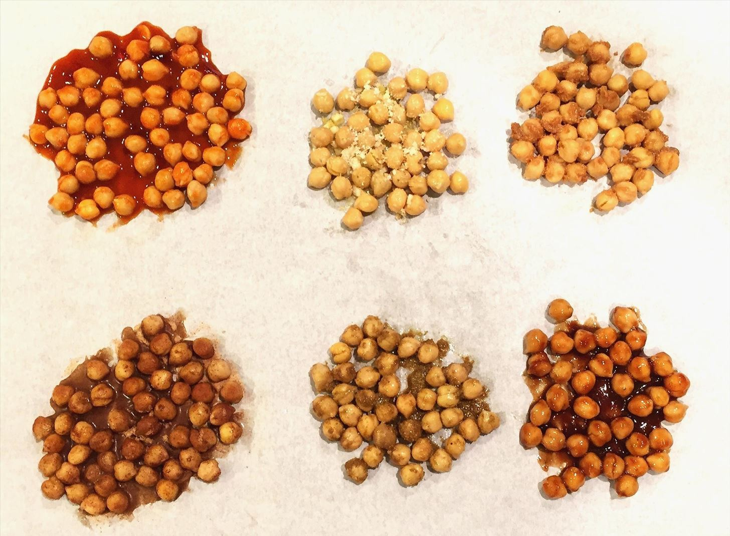 These 6 Flavors Turn Crunchy Chickpeas into Snacking Gold