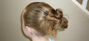 Make a Messy Bun