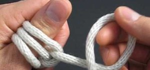 Tie a bloody knuckle knot