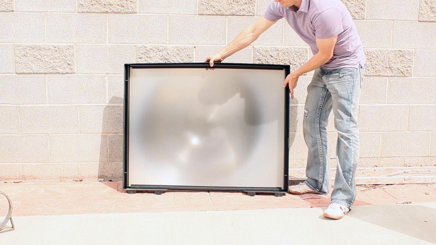 The Mega Solar Scorcher: Harness the Power of the Sun with Your Old TV