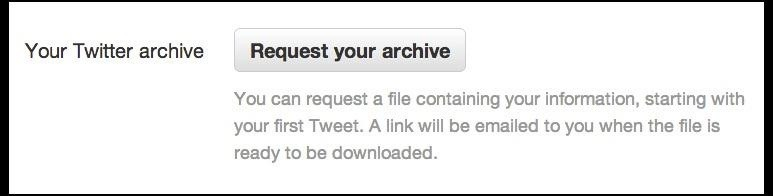 How to Download Your Twitter Archive for Every Single Tweet You've Ever Sent