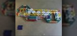Build a K'NEX pump action gun